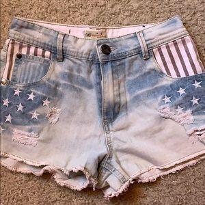 USA Jean shorts